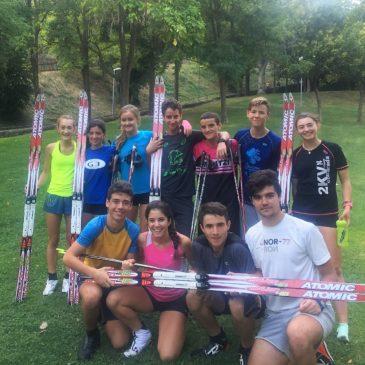 PRETEMPORADA 2017-18:  Grupo Esquí Fondo del CETDI ARAGÓN, Jaca 4 al 7 Agosto