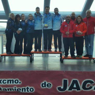 Medalla de bronce para el Curling CHJ en el VI Torneo 'Ciudad de Jaca'