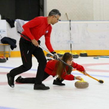 Curling Club Hielo Jaca, a por todas en el Campeonato de España de Dobles Mixtos que acoge Jaca este fin de semana
