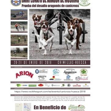 CAMPEONATOS DE ARAGON DE MUSHING EN TIERRA