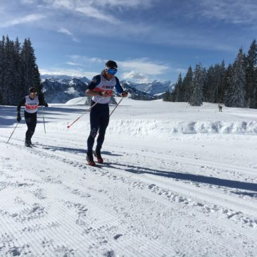 El esquiador de fondo MIKEL PLAZAS seleccionado por RFEDI