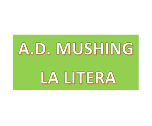 A.D. MUSHING LA LITERA